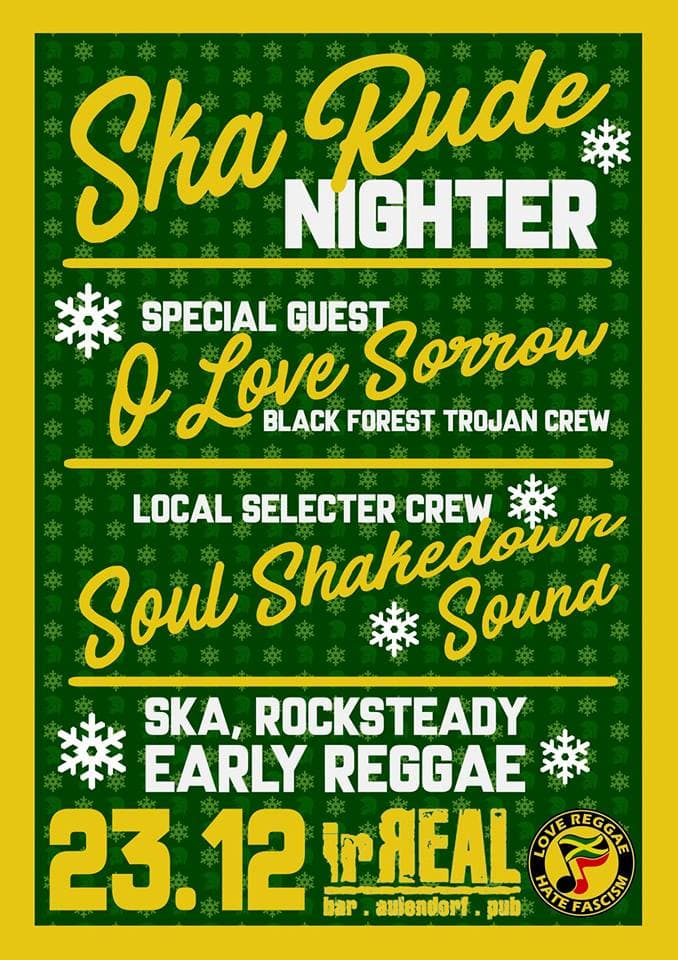 Ska Rude Nighter 23.12.2017 irReal Aulendorf