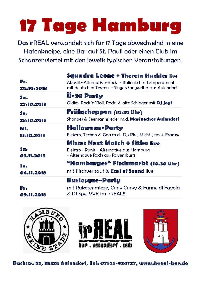 17 Tage Hamburg im irReal Aulendorf