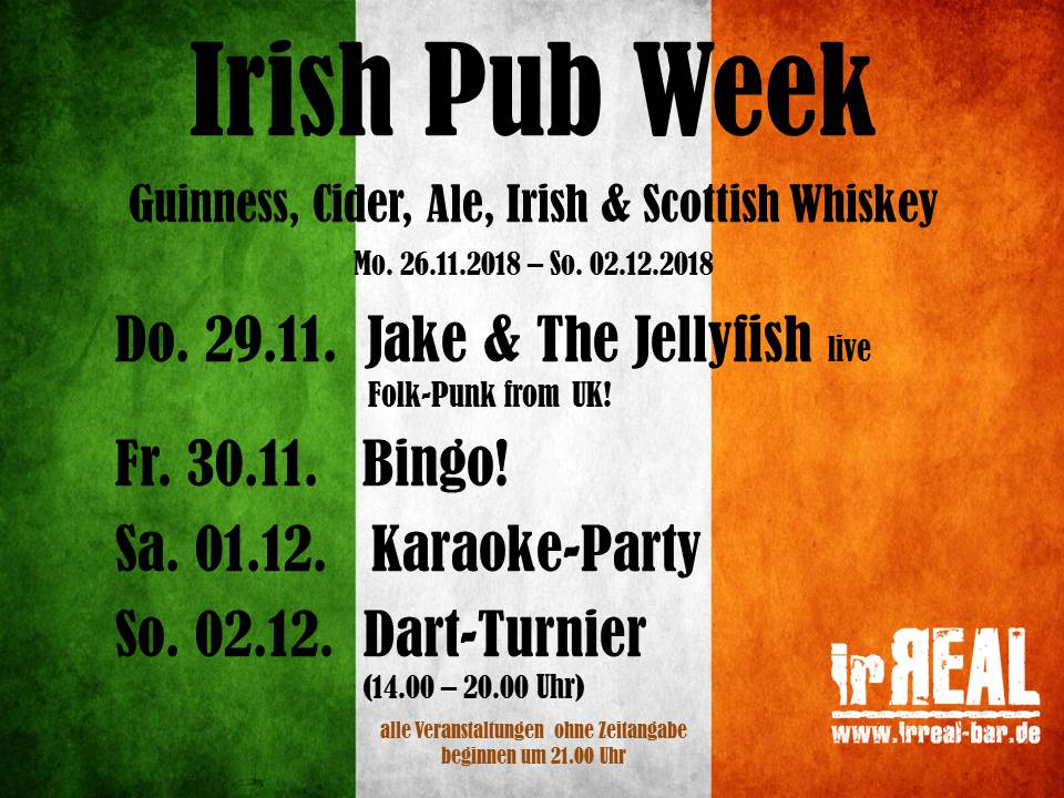 Irish Pub Week 2018